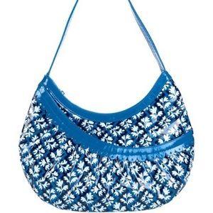 NWT VERA BRADLEY Hotsy Totsy Hobo Blue Lagoon bag